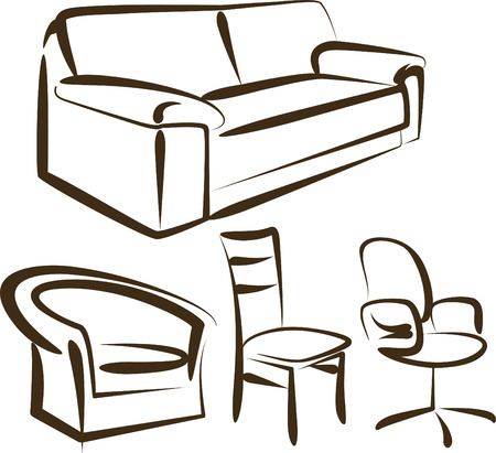 armchair: furniture