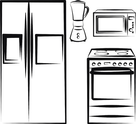 microwave oven: kitchen electronics