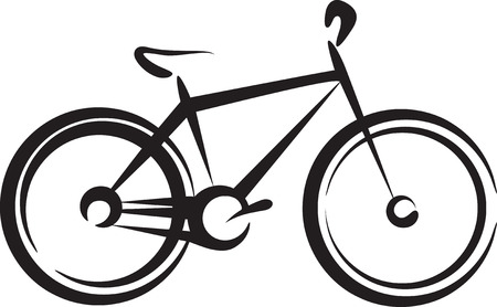 exercise bike: bike Illustration