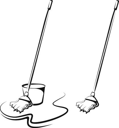 seau d eau: nettoyage