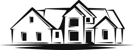 real estate Stock Vector - 7402196