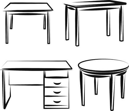 Möbel Vektorgrafik
