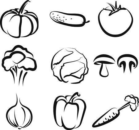 vegetables Stock Vector - 7402256