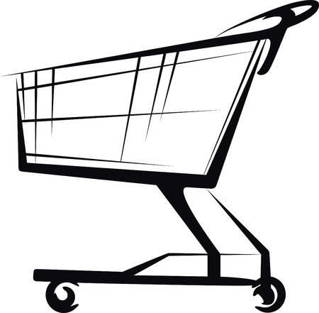 shopping icons: cart