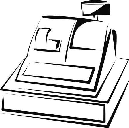 Kasse  Vektorgrafik