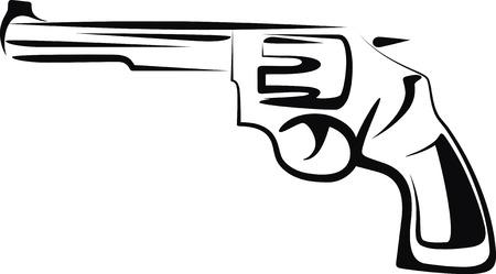 terrorists: pistola