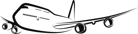 commercial airline: aircraft