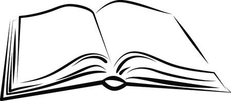 Aufgeschlagenes buch clipart  Offenes Buch Lizenzfreie Vektorgrafiken Kaufen: 123RF