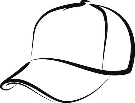baseball caps: cap Illustration