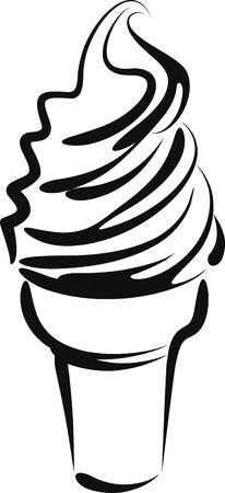 vanilla: ice cream