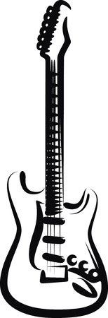guitar Stock Vector - 8003476