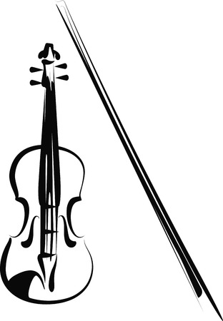 violins: violin Illustration