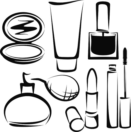cosmetics Stock Vector - 8395808
