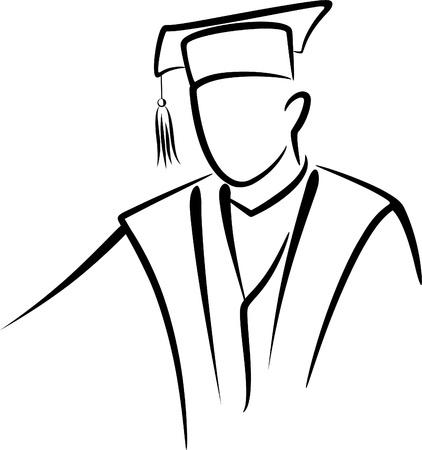 graduate concept Illustration