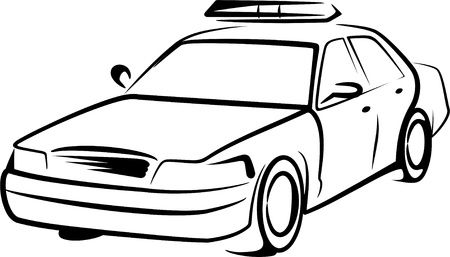 safety officer: police car