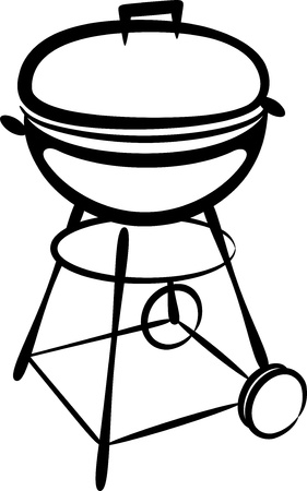 barbecue grill Stock Vector - 9717834