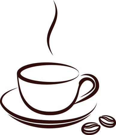 non alcohol: taza de caf�