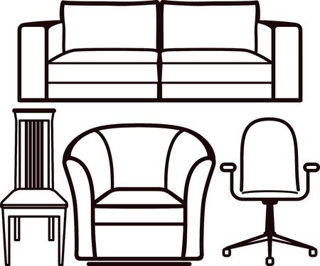 furniture Stock Vector - 10064655