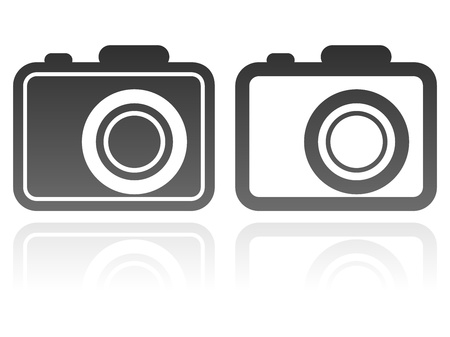vector set of camera icons Vector