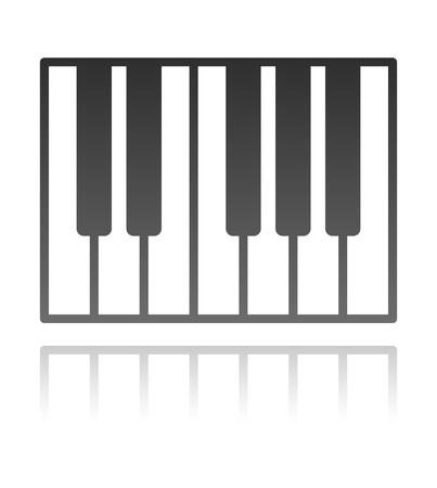 piano key: piano keys