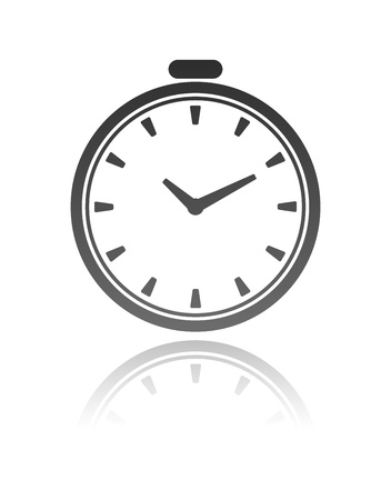 clock Stock Vector - 13009269