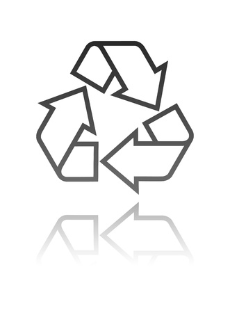 recycle symbol Stock Vector - 13009263