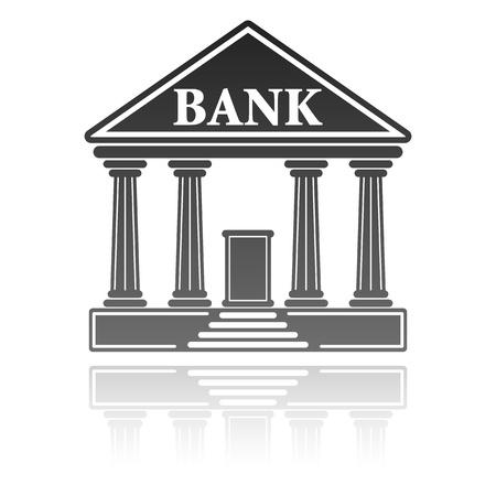 ilustración con un banco