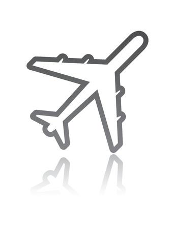airplane Stock Vector - 13009266