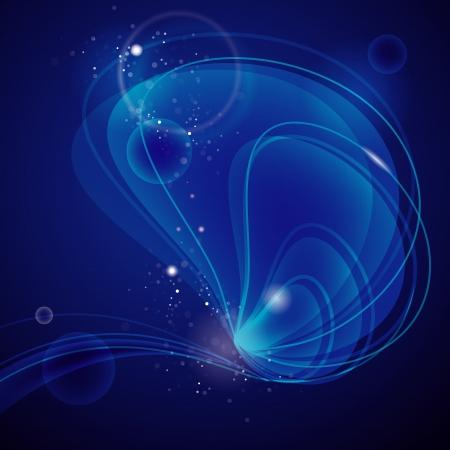 ciclo del agua: abstracto fondo en aguas profundas