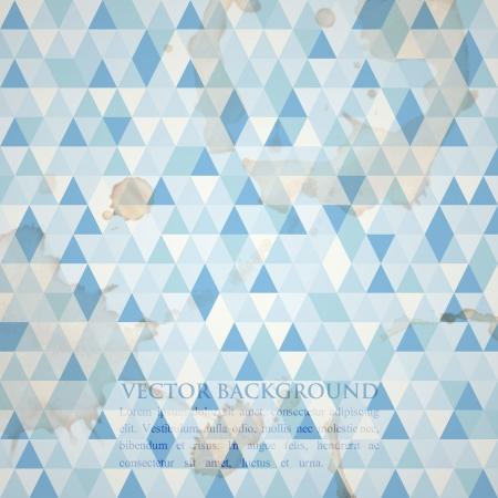 tessellation: abstract grunge mosaic background