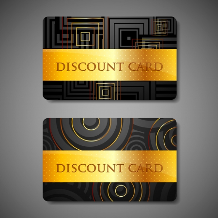 gift certificate: set of discount cards