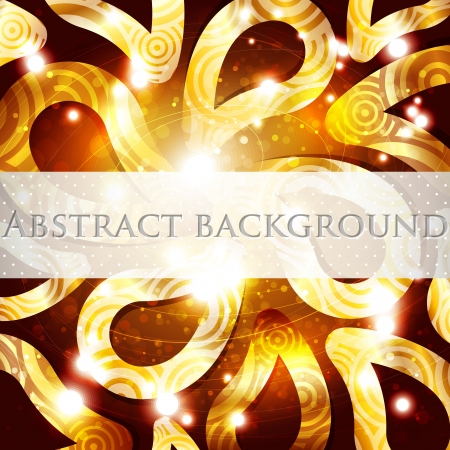 abstract golden background  Stock Vector - 18826191