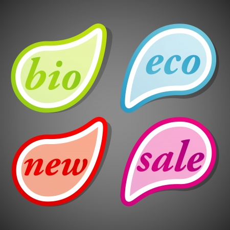 label set Stock Vector - 18825813