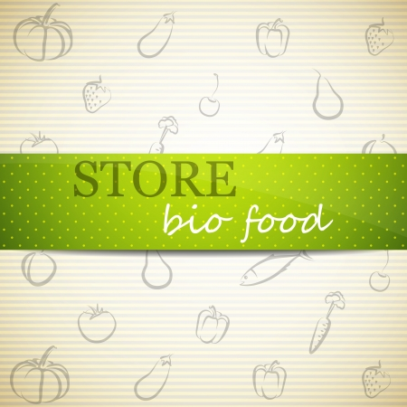 store advertising sign  Vector