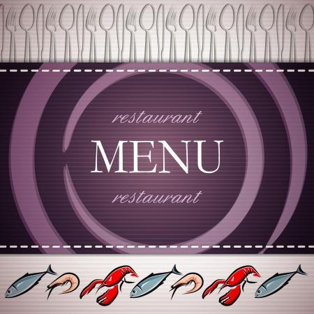 restaurant menu design Stock Vector - 18826631