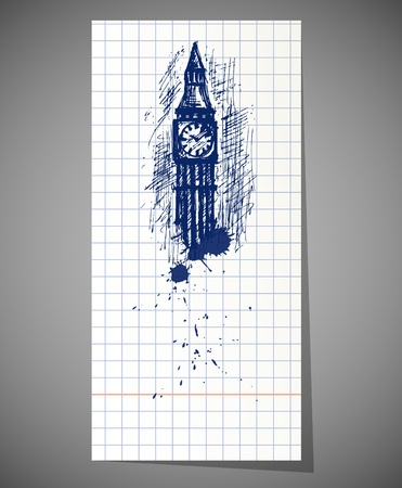 big ben Stock Vector - 18825893
