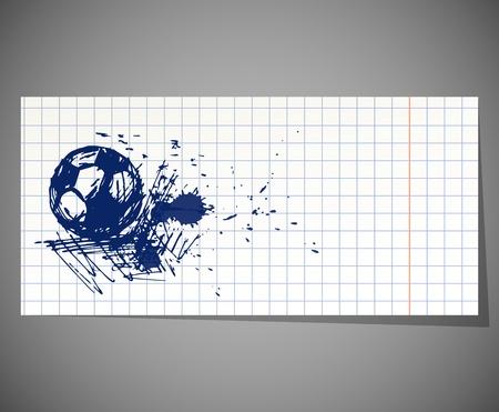 football ball Stock Vector - 18825817