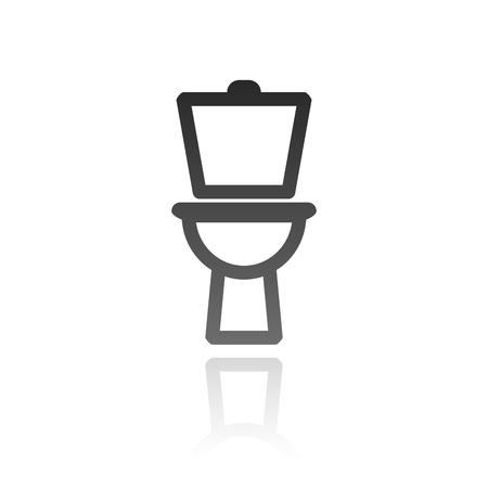 WC, bathroom, toilet sign