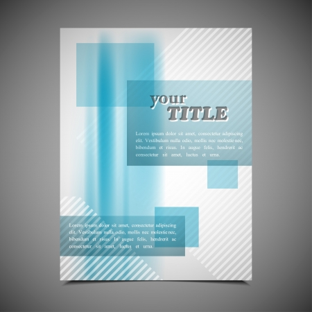 publishing: business brochure template
