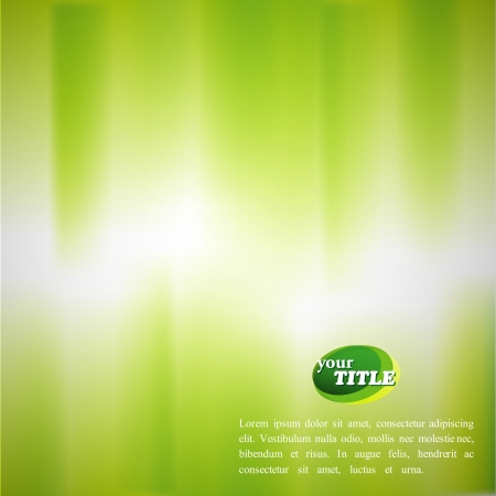 green grunge background: abstract green background Illustration