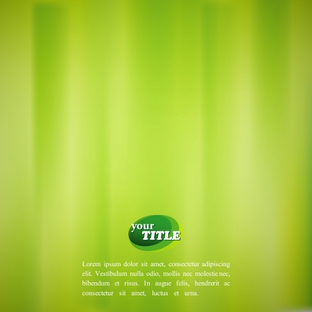 abstract green background with watercolor effect Vector