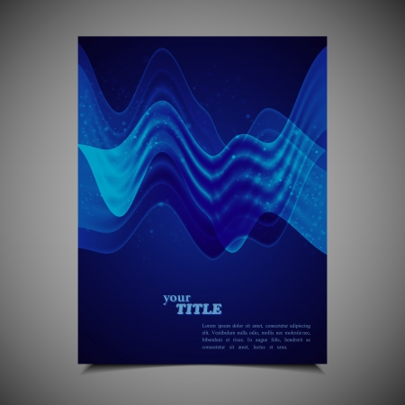 business brochure template  Stock Vector - 18858066