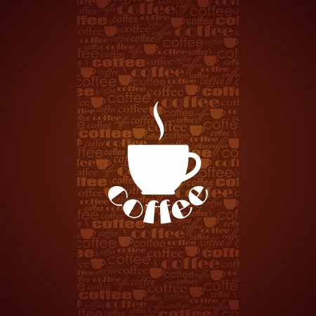 barista: background with coffee cup