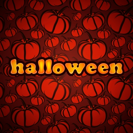 Halloween. Abstract background with pumpkin Stock Vector - 18858052