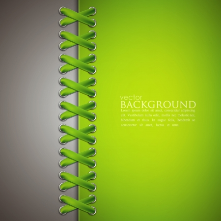 lacing: abstract background with green lace