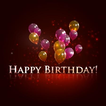 happy birthday  holiday background Stock Vector - 18925219