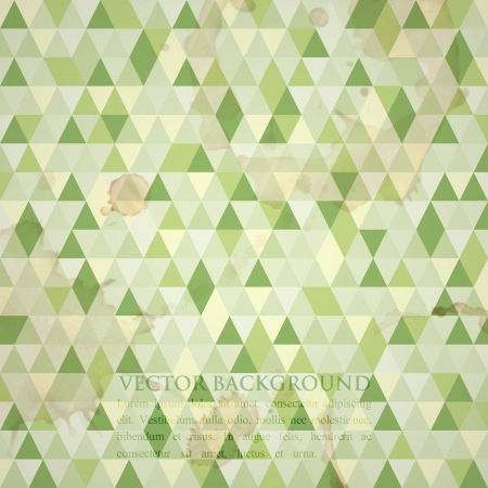 abstract grunge mosaic background Vector