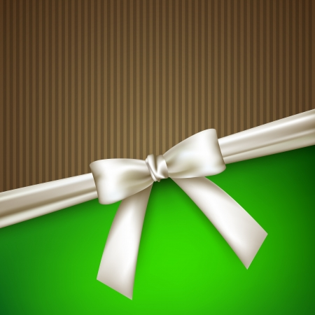 striped band: elegant background with white bow