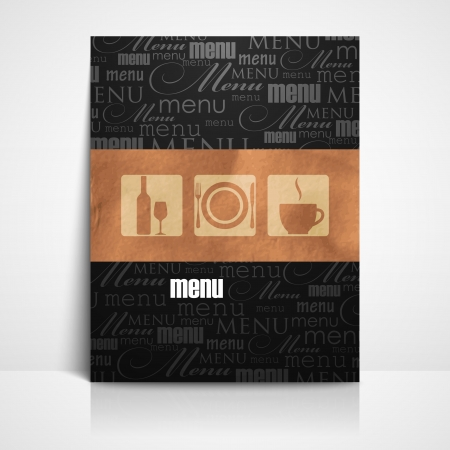 restaurant menu design Stock Vector - 21062298