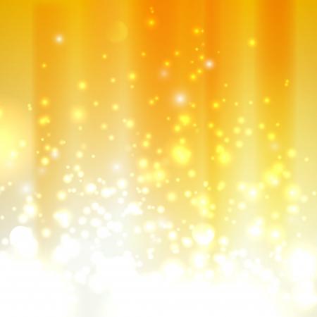 fireworks background: abstract orange background with sparkles Illustration